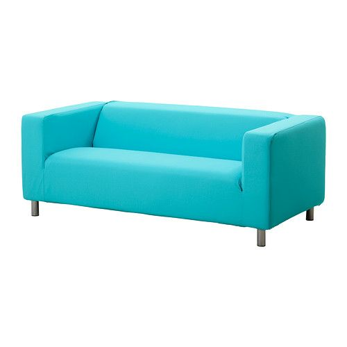 Ikea Klippan Cover 2 Seat Sofa Loveseat Slipcover Granan Turquoise New Nip Loveseat Covers
