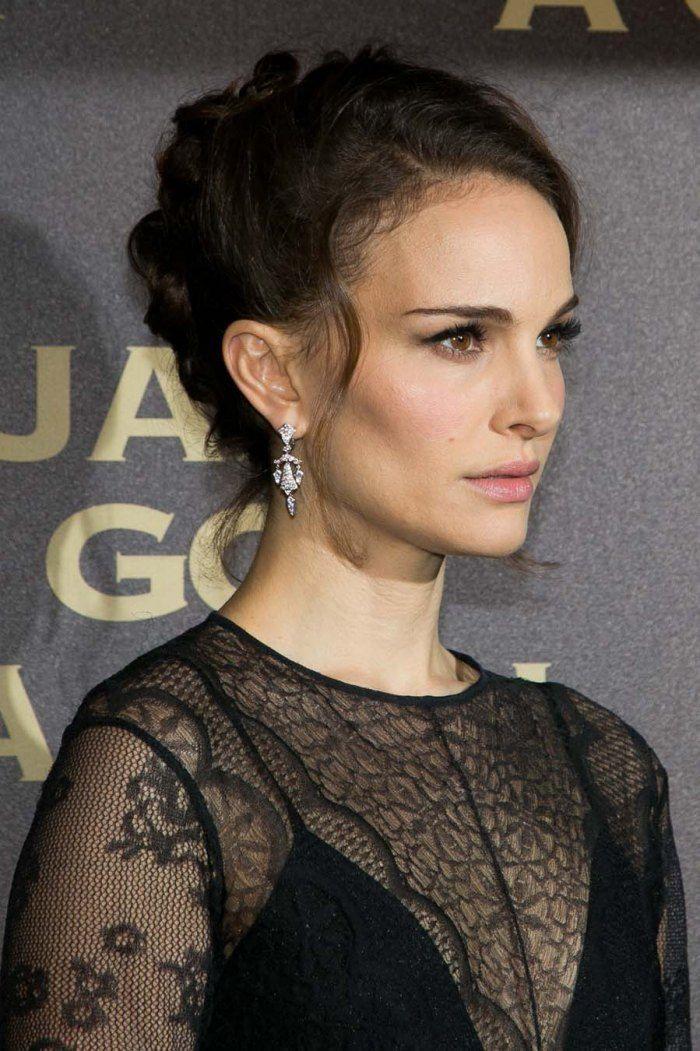 Natalie Portman en 15 beauty looks - Très souvent, la comédienne jette son dévolu sur du baume à lèvres plutôt que sur une teinte plus foncée.© Getty