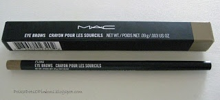 MAC Eyebrow Pencil Fling -  Perfect for blondes