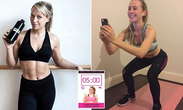 Can you sculpt abs like Chloe Madeley's in just 15 minutes a day? FEMAIL tests the fitness fan's £3.99 app after it's branded 'misleading' by experts