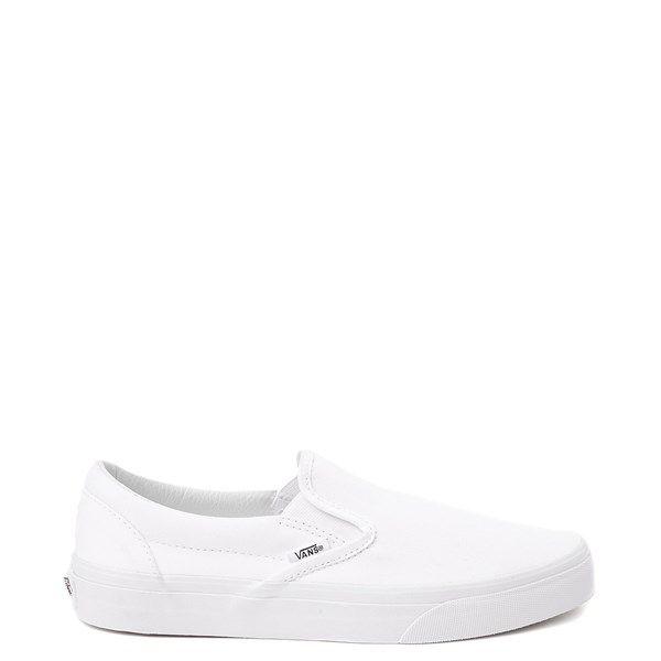 Vans Slip On Skate Shoe - White in 2020
