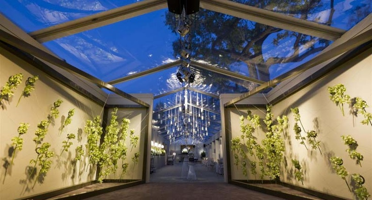 Wild Cascading Foliage Installation Clear Roof Marquee Chandeliers For Poppys Flowers W I T H E S A N D Pinterest Wedding And