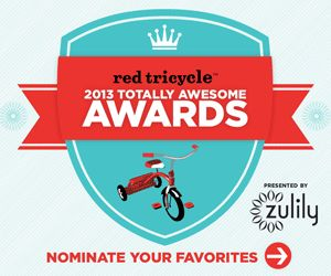 Only 2 days left to vote! We've been nominated for TWO of Red Tricycle's Totally Awesome Awards 2013 (Yippeee! Thank you!) So PLEASE show us some ❤ and vote for us! http://awards.redtri.com/2013/coolest-thing-to-have-in-your-playroom + http://awards.redtri.com/2013/room-decor-accessories