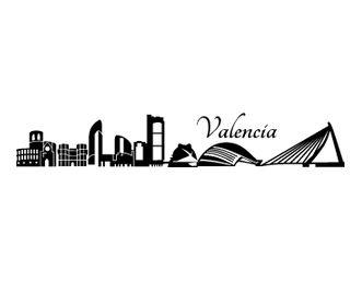 vinilos Skyline Valencia