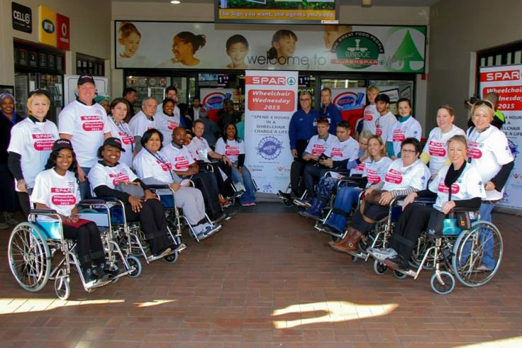 SPAR Wheelchair Wednesday 2015 Launch - Sunridge Spar (Week 1)