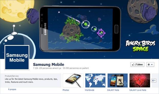 Samsung Mobile - Facebook
