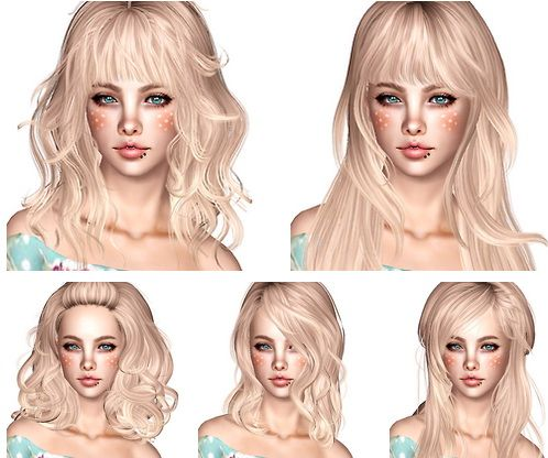 Newsea Hair Dump part 2 by Magically Delicious for Sims 3 - Sims Hairs - http://simshairs.com/newsea-hair-dump-part-2-by-magically-delicious/