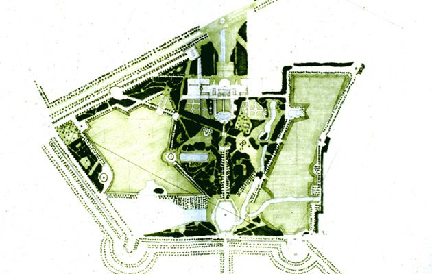 Les 48 meilleures images du tableau stowe garden paintings for Jardin anglais histoire