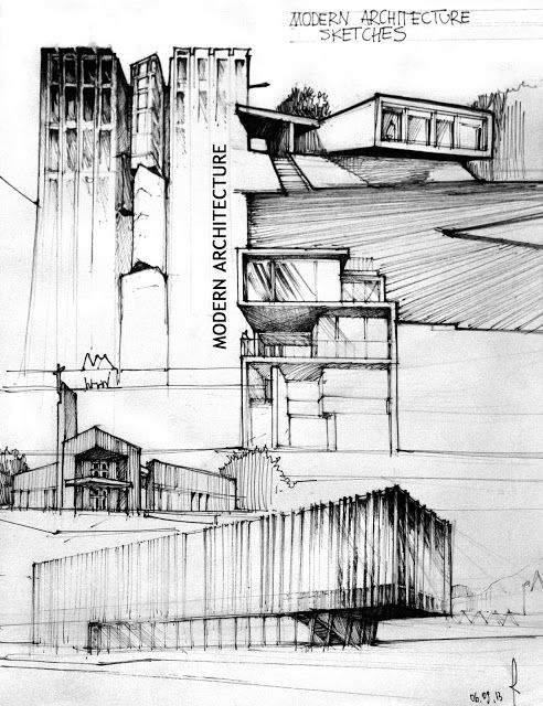 Best Sketch Images On Pinterest Drawings Architecture And