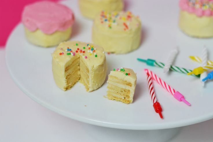 No Bake Mini Baby Cakes (with a Secret!)
