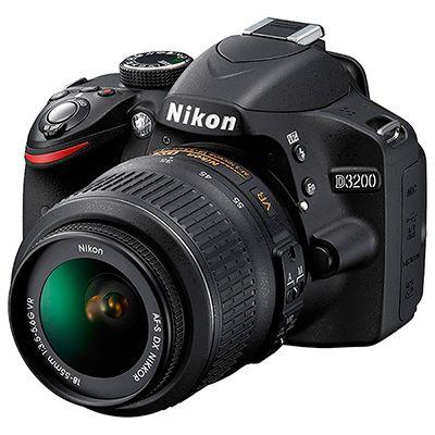 NIKON - Cámara Nikon D3200 Kit 18-55mm VRII + 16GB CLASS 10 200X - Cámaras profesionales y semiprofesionales | exito.com