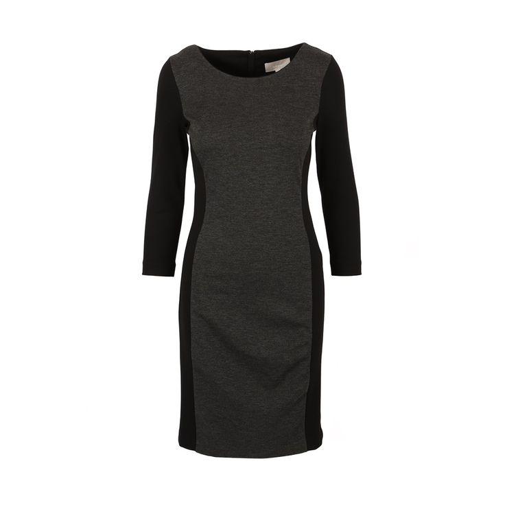 Sort/Grå Venche Kjole fra InWear - Korte kjoler