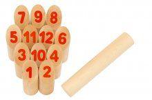 Kubb met nummers, ideaal buitenspel voor het hele gezin! http://www.exkidition.com/nl/speelgoed/actief-spelen/d/kubb-met-nummers/19686