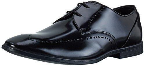 Oferta: 79.9€ Dto: -43%. Comprar Ofertas de Clarks Bampton Limit, Zapatos de Vestir Para Hombre, Negro (Black Hi-Shine Leather), 46 EU barato. ¡Mira las ofertas!