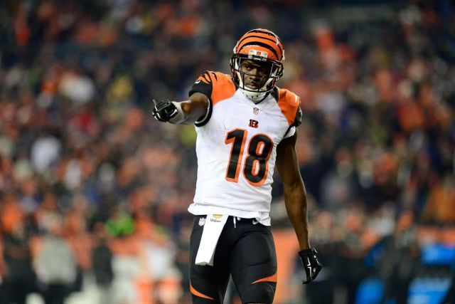 A.J. Green in elite tier of NFL fantasy football players for 2016