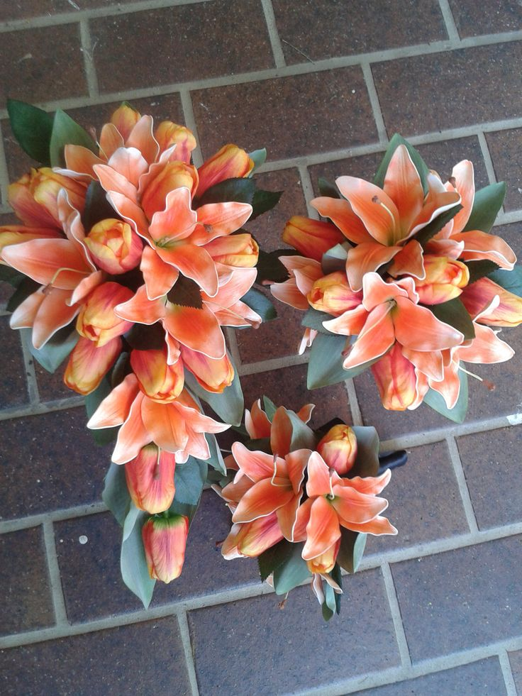 Artificial Lilies and Tulips, #floralproductions, #artificialweddingflowers,