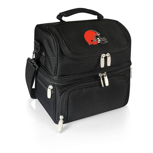 NFL Collectibles - Pranzo Lunch Tote (Cleveland Browns) Digital Print - Black