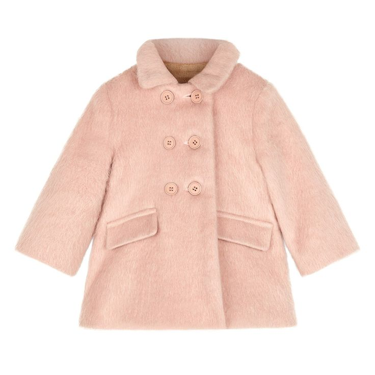 Baby Clare Coat - Shell Pink - AW15 BABIES PREVIEW - Babies 0-3yrs