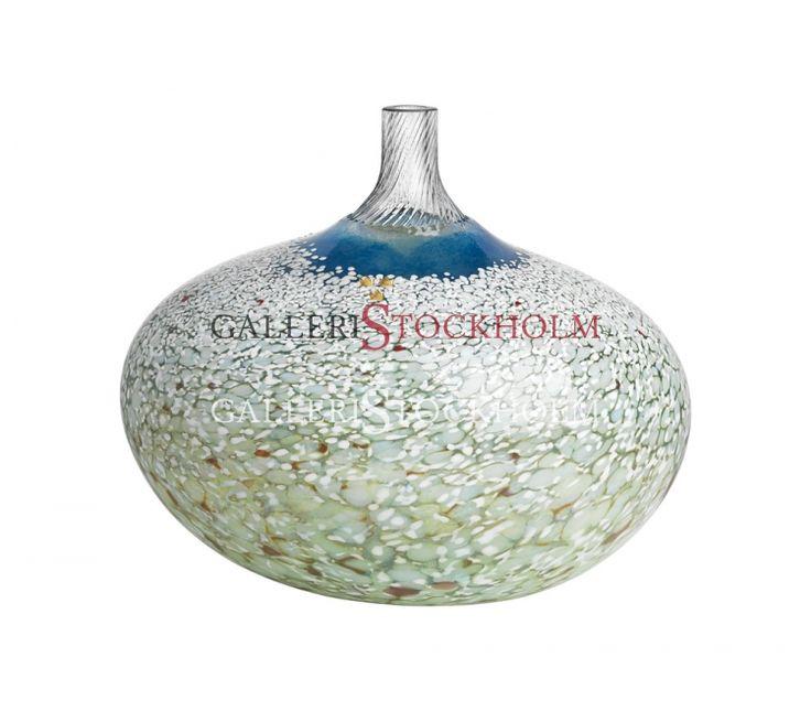 Bertil Vallien - Glaskonst – Limiterat Super Egg blå Köp direkt online på www.galleristockholm.se