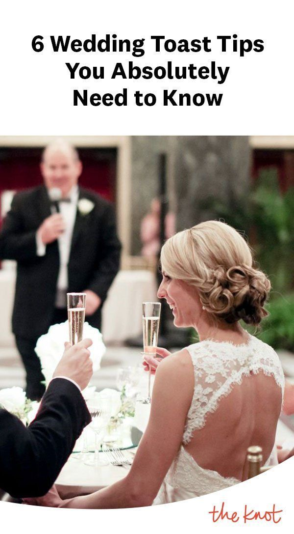 6 Wedding Toast Tips You Absolutely Need To Know Wedding Speech Wedding Toasts Best Wedding Speeches