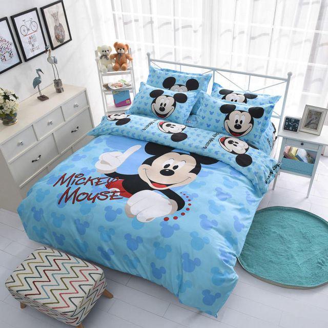 aeee07ca4d Disney Mickey e Minnie Rainha King Size conjunto de cama