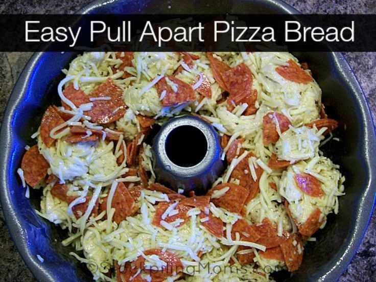 Easy Pull Apart Pizza Bread is amazing!
