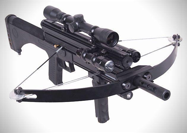 Voici une arme qui aurait pu plaire à Daryl Dixon, le bad boy au grand cœur de la série américaine «The Walking Dead». Cette arbalèteM4 180lb Tactical allie le côté ancien d'arme avec le c…