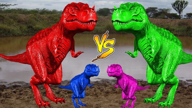 Learn Colors With Bad Baby Dinosaurs Vs Dinosaur | Bad Baby Dinosaurs Ac...