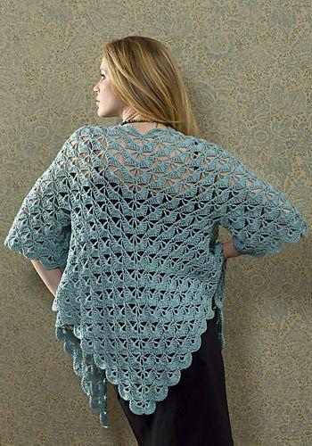 Free Crochet Zen Jacket Pattern : Zen jacket Free Crochet Clothing Patterns Pinterest