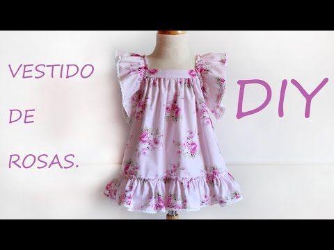 Vestido de rosas: Patrones niña. - Patronesmujer: Blog de costura, patrones y telas.