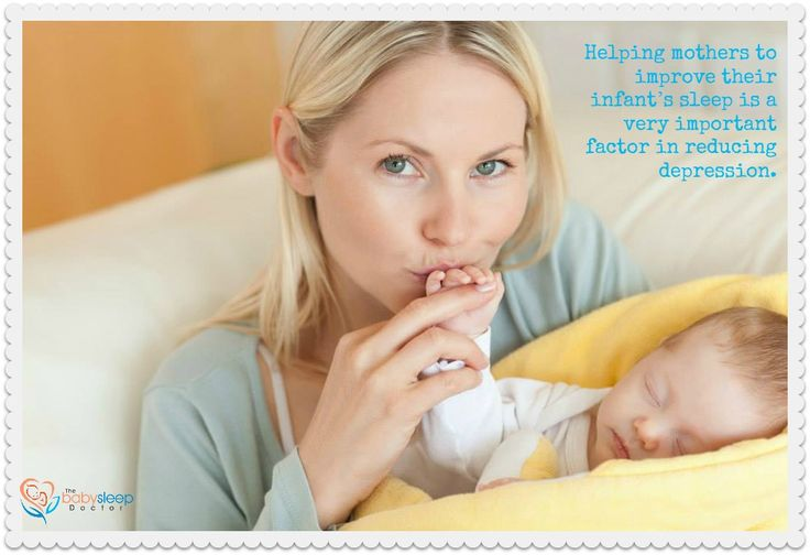 Postnatal depression is clearly an enormous public health problem, with up to 45,000 Australian women per year experiencing some degree of the illness. Helping mothers to improve their infant's sleep is a very important factor in reducing depression.