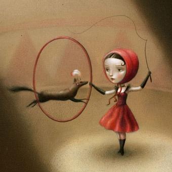 Nicoletta Ceccoli, Little Red Riding Hood