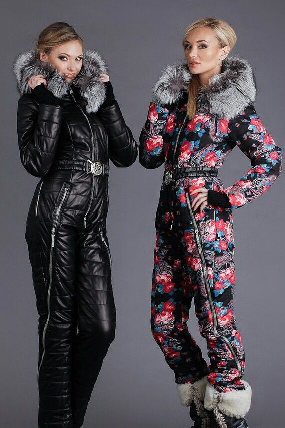 Fox fur hooded snowsuits | Ski suits | Pinterest | Fox fur ...
