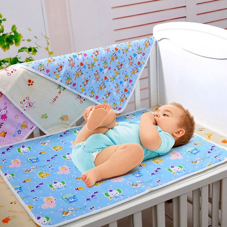3 Sizes Cotton Portable Waterproof Newborn Infant Bedding Changing Nappy Cover Pad Cute Baby Nappy Cover Pad For All Seasons