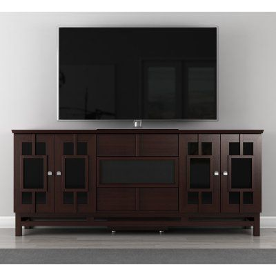 Furnitech Contemporary Asian 70 Inch TV Stand - FT72ACW
