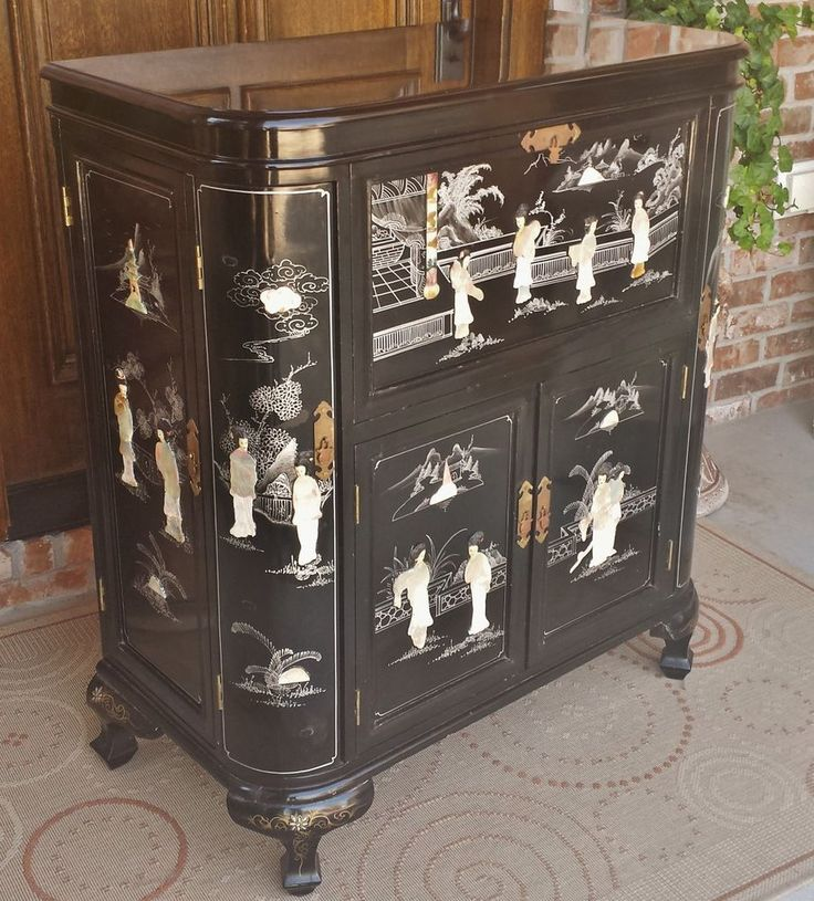 Liquor Cabinet Japanese Wine And Geishas On Pinterest
