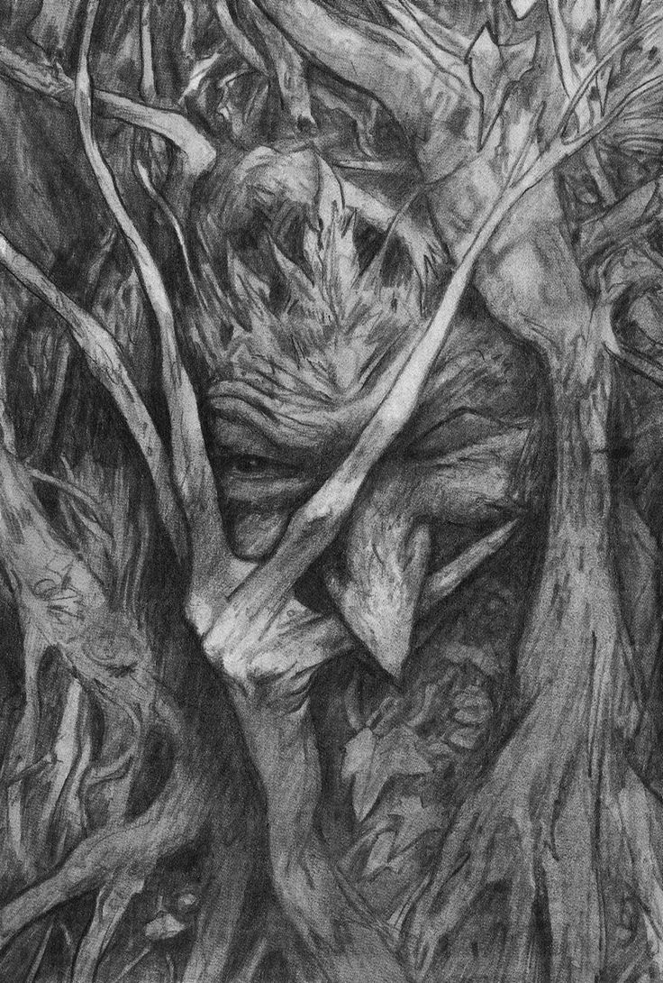 More illustrations by Brian Froud for The Wild Wood by Charles de Lint.: