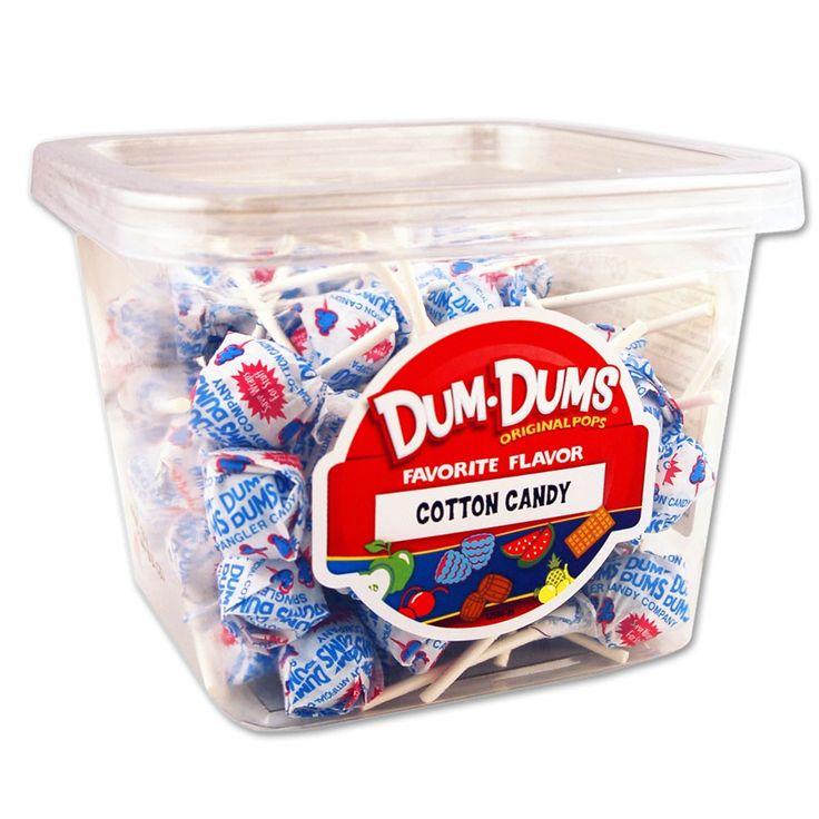 Dum Dums Cotton Candy