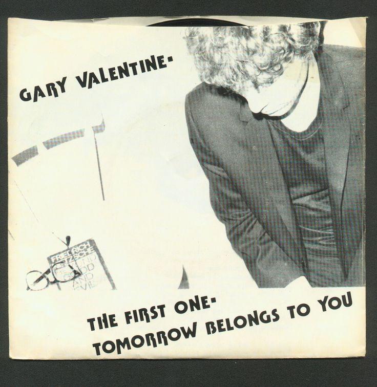 "Rare NYC indie. Gary Valentine pre-Blondie  45 ""The First One""."