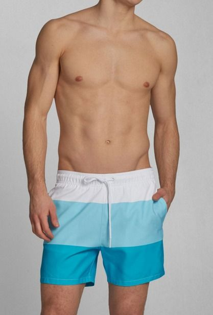 Abercrombie Campus Fit Swim Shorts