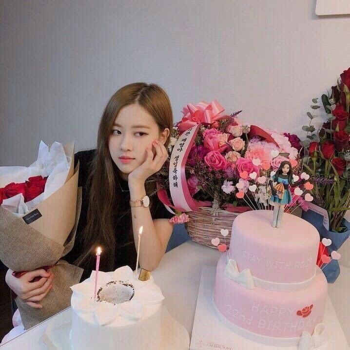 Instagram Jirose Blackpink Rose Blackpink Birthday Roses