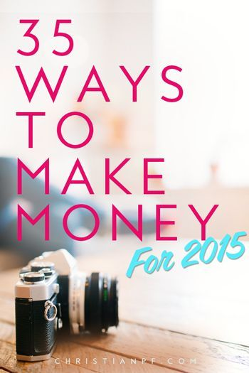 These are 35 ways you can make money from home that actually work in 2015! I have actually tried and done most of these myself and can attest that they are legitimate money-making ideas - so check them out! #MoneyMoneyMoneyandAbba
