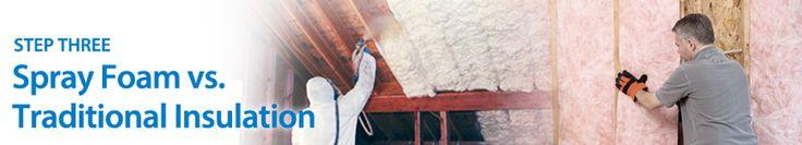Spray Foam Insulation vs Traditional | Comparison Chart