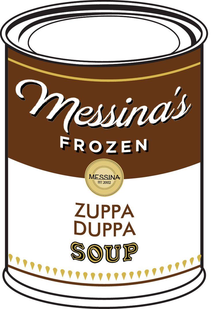 Zuppa Duppa - Hazelnut gelato, wild-strawberry preserve, pistachio crunch, Amaretti biscotti. #RCCmelb