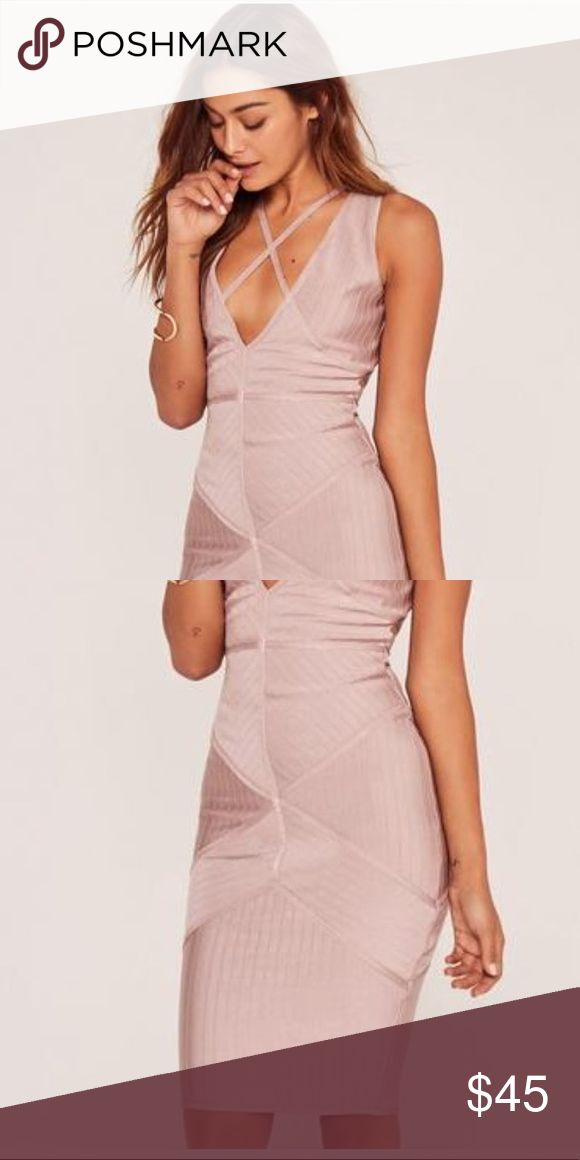 ***New with tags*** Missguided dress Lilac bandage dress by Missguided. New with tags. Never worn. Missguided Dresses Mini