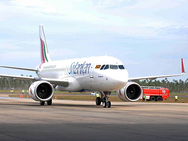 Premier Airbus A320neo pour SriLankan Airlines