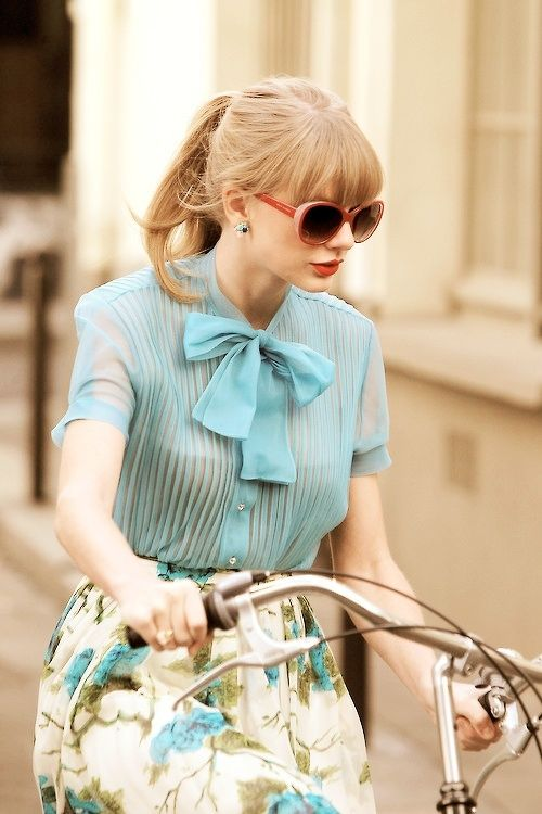 I'd like to borrow Taylor Swift's wardrobe just for a day.