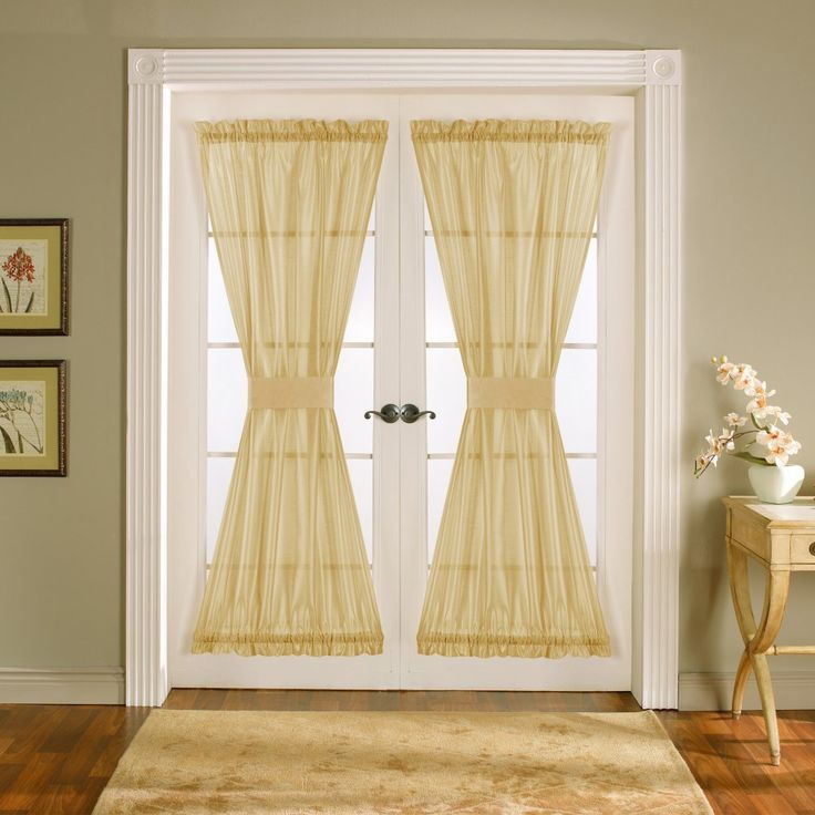 1000 Ideas About Sidelight Curtains On Pinterest French Door Curtains Window Film And Door
