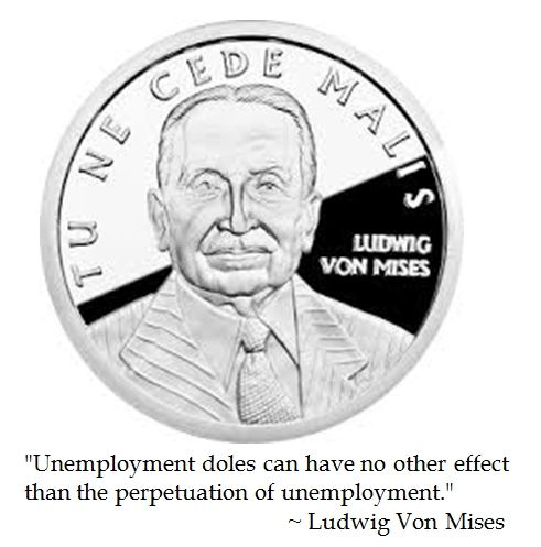 Ludwig Von Mises on Unemployment #quotes #teaparty #tlot