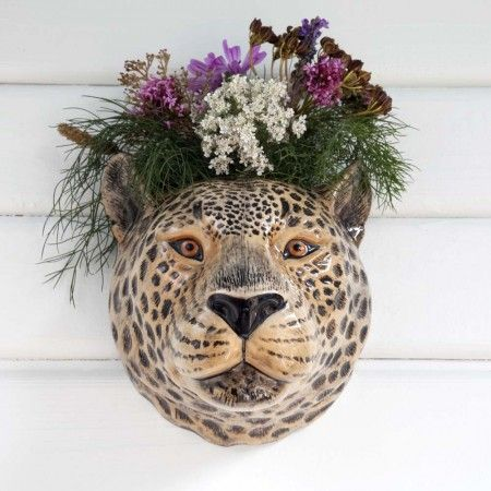 Leopard Wall Vase - New For Summer - Home Decoration - Home Accessories